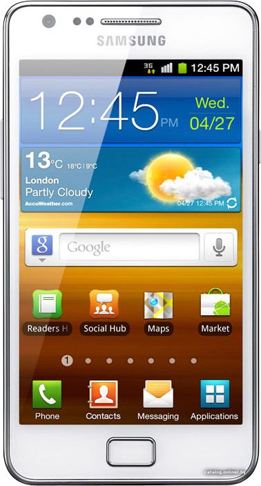 Samsung i9100 Galaxy S II Summer Edition